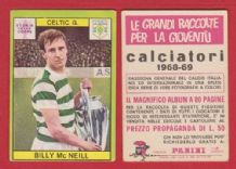 Glasgow Celtic Billy McNeill Scotland